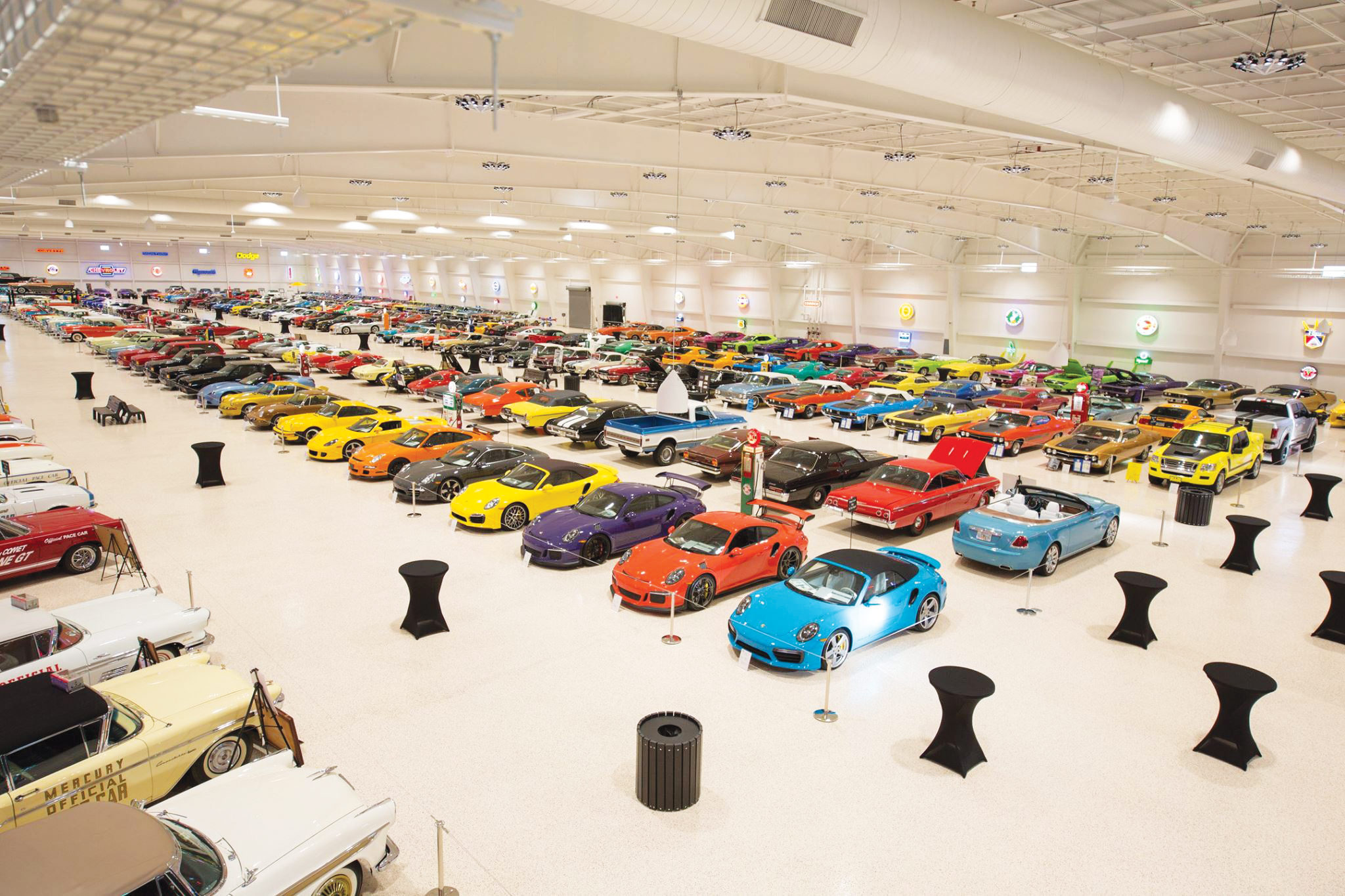 power play mark pielochs american muscle car museum highline autos  source