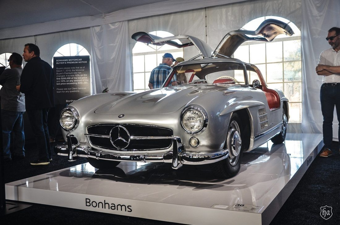 Bonhams_1955_Mercedes_Benz_300SL_Gullwing