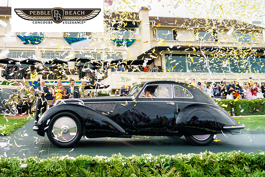 2019 Pebble Beach Best Of Show Pebble Beach Concours d'Elegance 2019   Highline Autos   Your