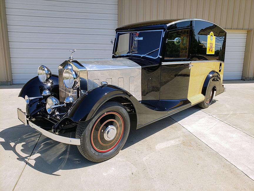 1933 Rolls-Royce Delivery Van For Sale