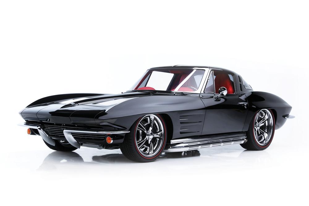 Barrett_Jackson_1963_Chevrolet_Corvette_Split_Window_Custom_Lot_1363