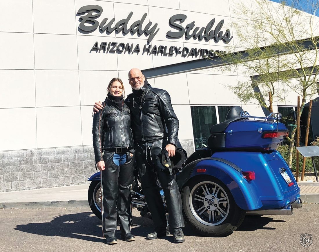 Stephen_Grisanti_daughter_Hope_Buddy_Stubbs_Harley_Davidson