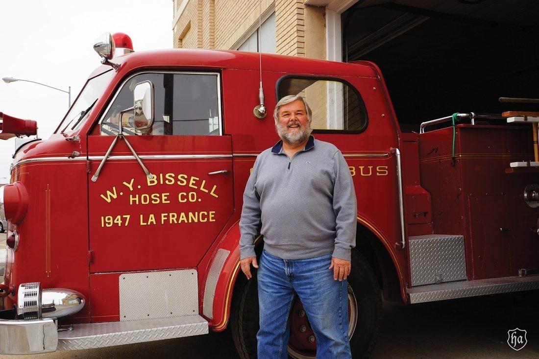 Dennis_Hirschbrunner_1950_American_LaFrance _Series_700_Cab_Over_Pumper_Truck