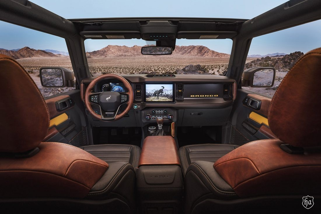 2021 Bronco Interior
