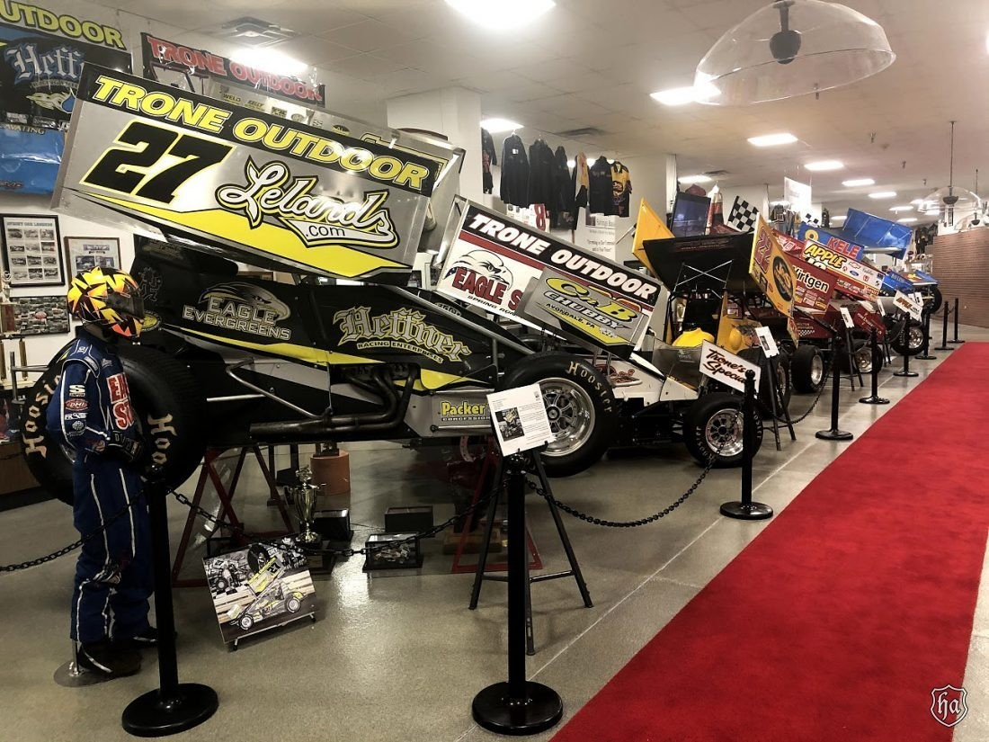 National_Sprint_Car_Hall_of_Fame_Knoxville_Iowa_display