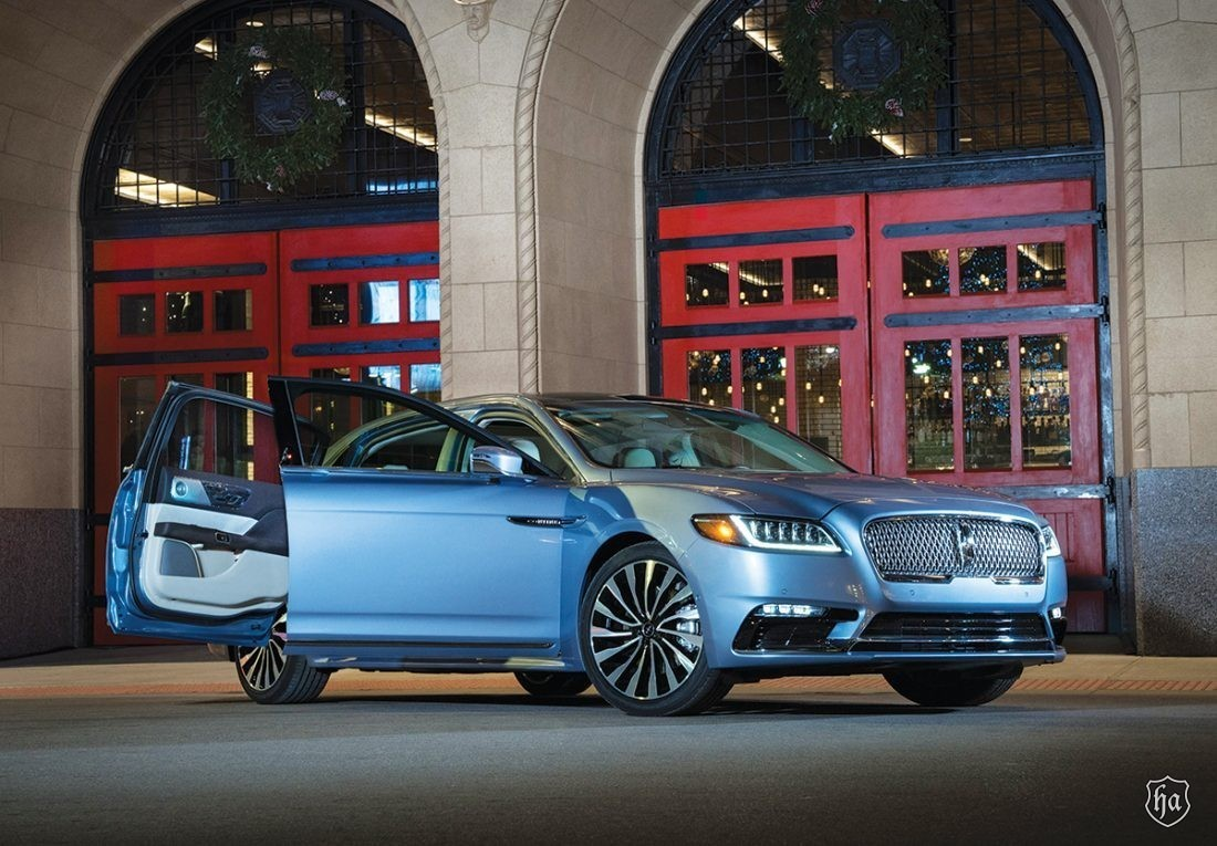 80th Anniversary Lincoln Continental