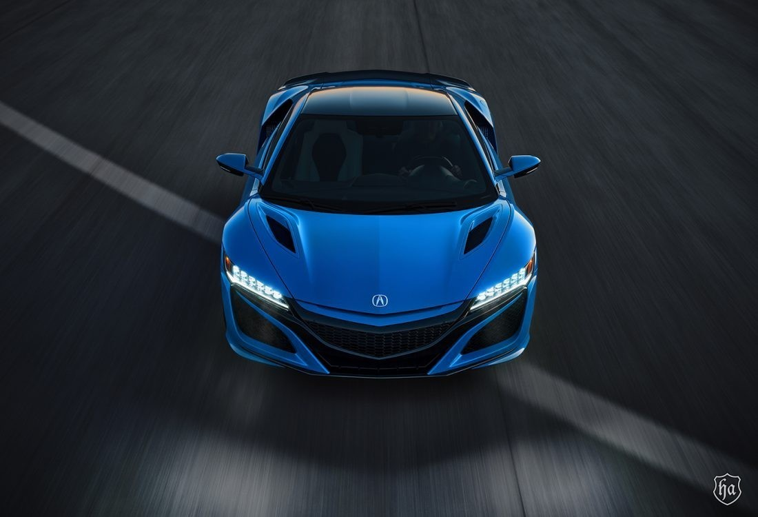 2021 Acura NSX Celebrates Motorsports and Heritage in Long Beach