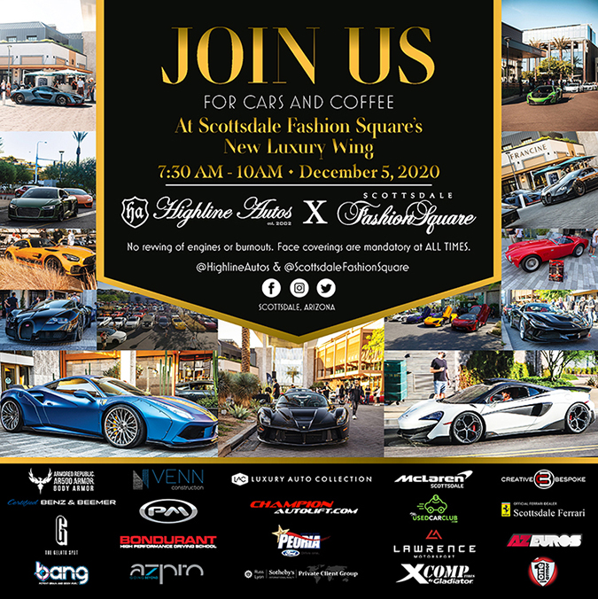 Highline Autos Cars & Coffee At The Luxury Wing Of