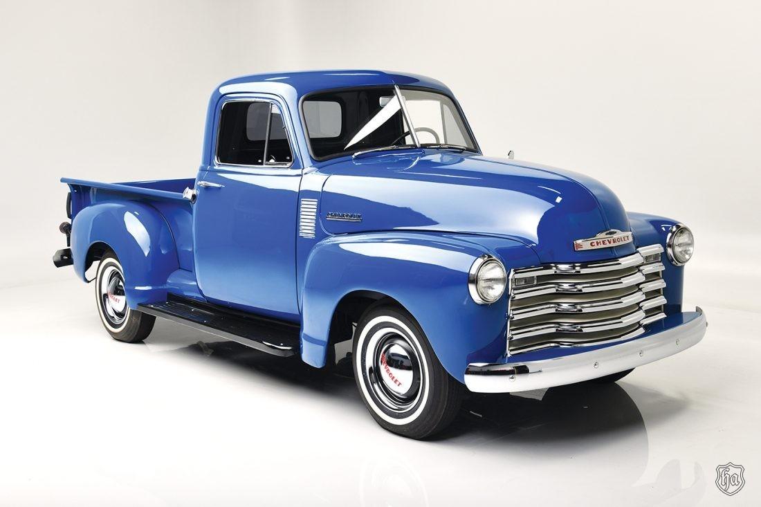 1952_Chevrolet_3100_Pickup_Truck_Lot_1051.2