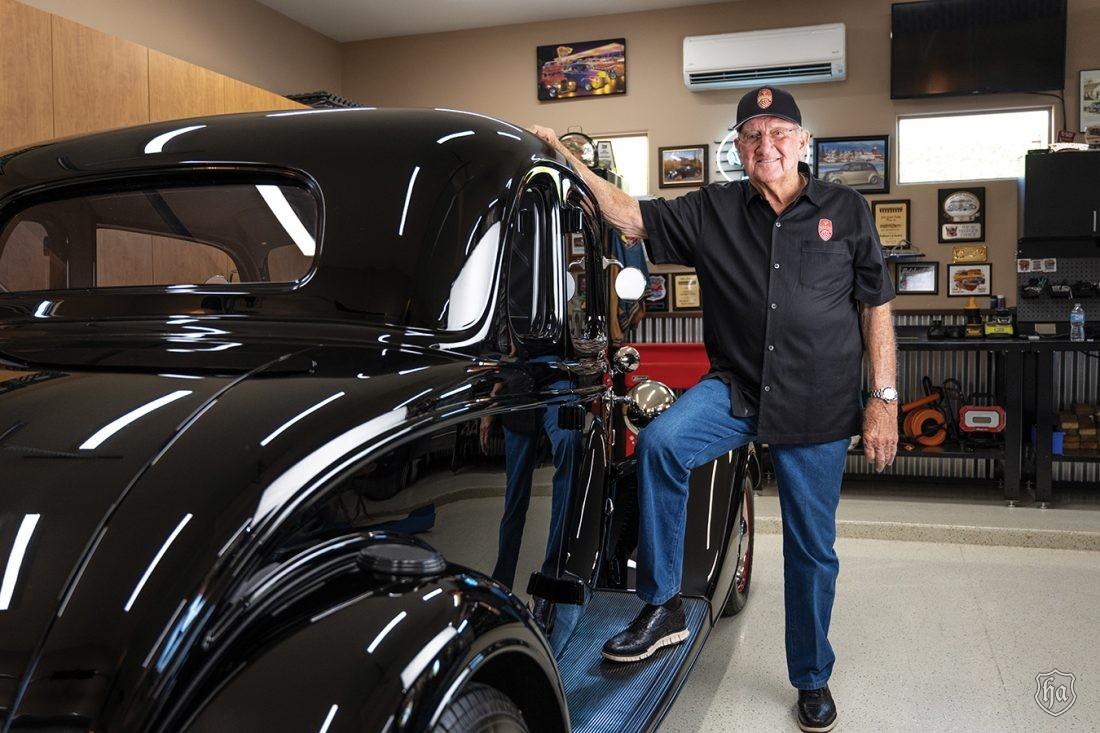 Jim_Bridgewater_with_his_1934_Five_Window_Coupe